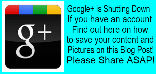 Google Plus Is Shutting Down | How To Save Your Google+ Content And Photos