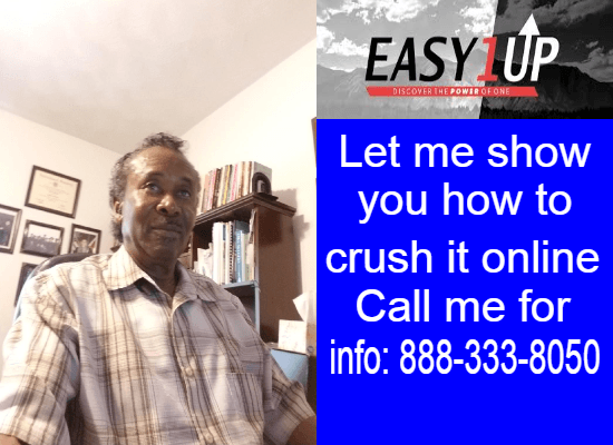 CALL 888-333-8050 - WORK FROM HOME - EASY 1UP