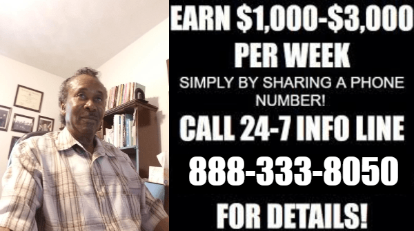 CALL 888-333-8050 JOHNNIE - MAKE MONEY FROM HOME - SHARE THE NUMBER REVIEW - EASY 1UP REVIEW