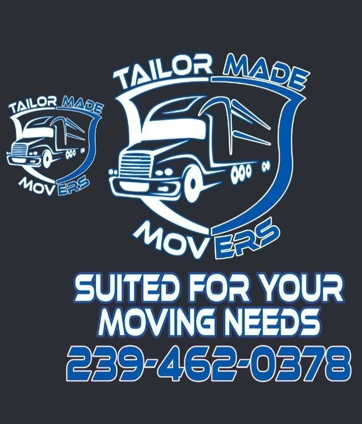 TAILOR MADE MOVERS - CALL/TEXT 239-462-0378‬ | AFFORDABLE MOVING COMPANY FORT MYERS FLORIDA