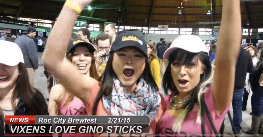 Gino Sticks Takes A Walk Down Memory Lane With the Vixens | Roc City Brewfest