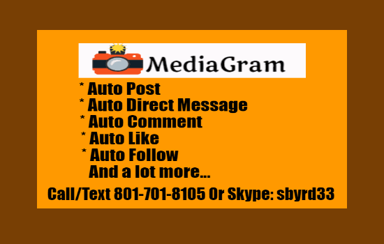 Call Text 801-701-8105 | Instagram Software | Social Media Software | Steve Datoolguy