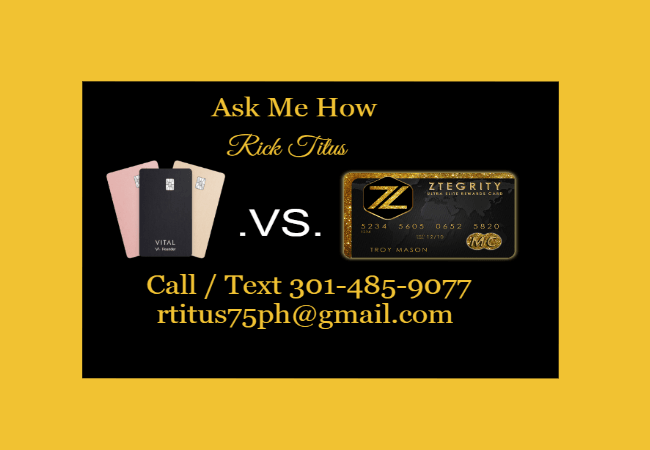 💥 CALL 301-485-9077 💥 VITAL CREDIT CARD REVIEW | ZTEGRITY REVIEW | ZBLACKCARD REVIEW